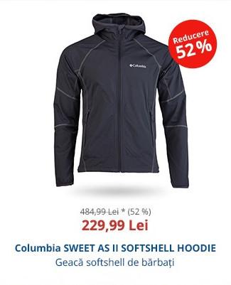 Columbia SWEET AS II SOFTSHELL HOODIE