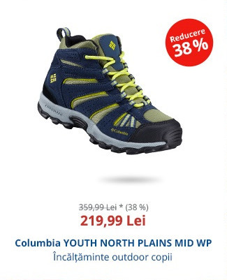 Columbia YOUTH NORTH PLAINS MID WP
