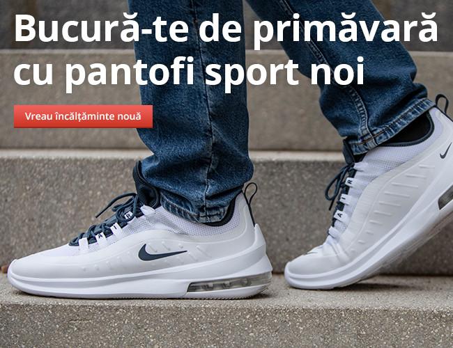 Bucură-te de primăvară cu pantofi sport noi