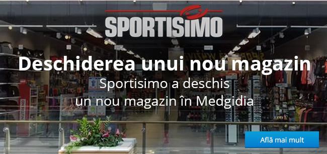 Un nou magazin Sportisimo în Medgidia