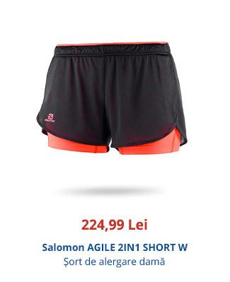 Salomon AGILE 2IN1 SHORT W