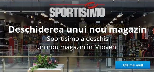 Un nou magazin Sportisimo în Mioveni