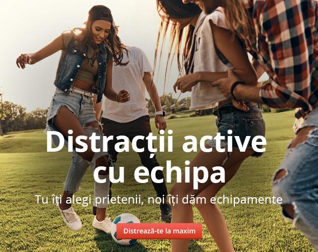 Distracții active cu echipa
