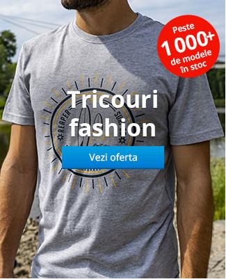 Tricouri fashion peste 1000 de modele în stoc