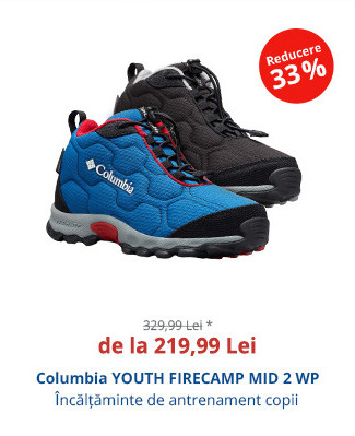 Columbia YOUTH FIRECAMP MID 2 WP