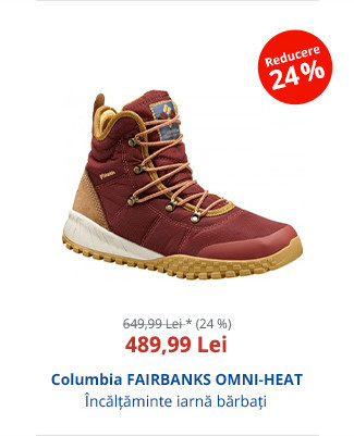 Columbia FAIRBANKS OMNI-HEAT