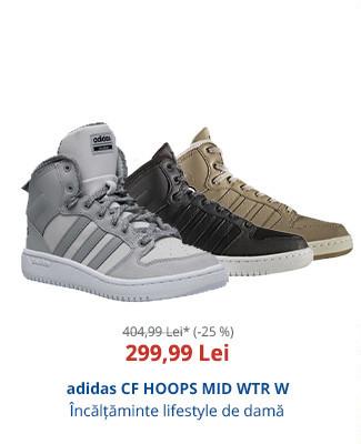 adidas CF HOOPS MID WTR W