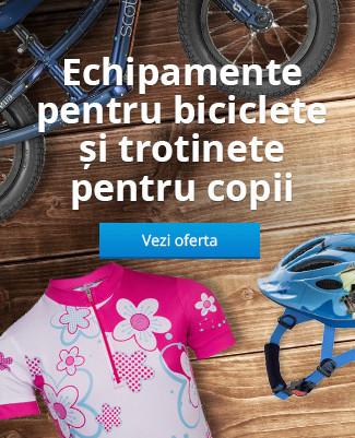 Echipamente pentru ciclism și trotinete pentru copii