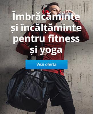 Îmbrăcăminte și încălțăminte pentru fitness și yoga