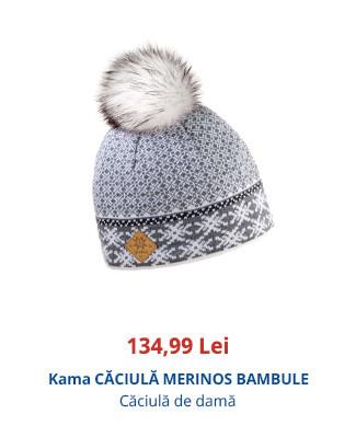 Kama CĂCIULĂ MERINOS BAMBULE