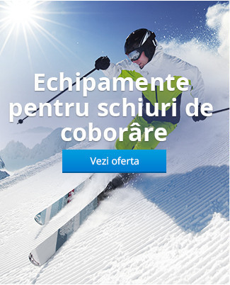 Echipamente pentru schiuri de coborâre
