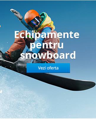Echipamente pentru snowboard