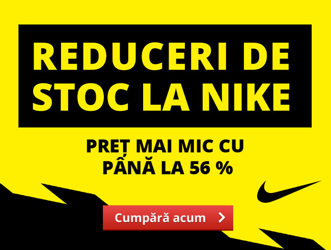 Reduceri de stoc la Nike