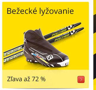 Bežecké lyžovanie/ Zľava až 72 %
