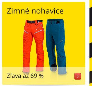 Zimné nohavice/ Zľava až 69 %