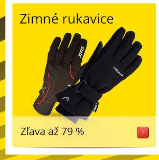 Zimní rukavice/ Zľava až 79 %