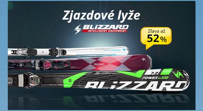 Button - Zjazdové lyže BLIZZARD/ Zľava až 52 %
