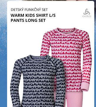 WARM KIDS SHIRT L/S PANTS LONG SET