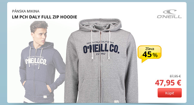 LM PCH DALY FULL ZIP HOODIE