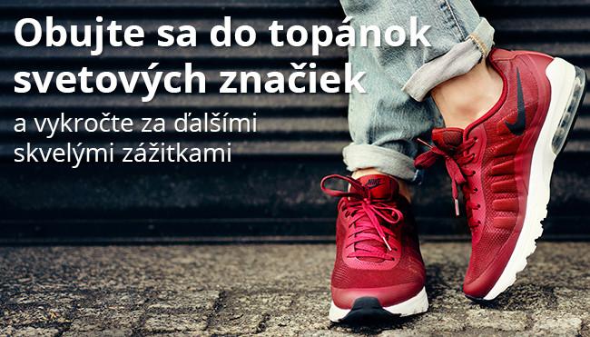 c56d15b2f Kvalitné ZNAČKOVÉ TOPÁNKY pre Vás: Converse, NIKE a adidas ...