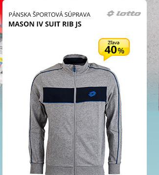 MASON IV SUIT RIB JS