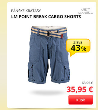 LM POINT BREAK CARGO SHORTS