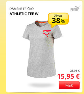 ATHLETIC TEE W