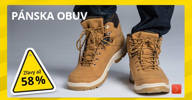 243ffe256d75 VÝPREDAJ zimnej obuvi  Až 58% ZĽAVY na 180 modelov. Vyberajte ...