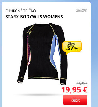 Swix STARX BODYW LS WOMENS