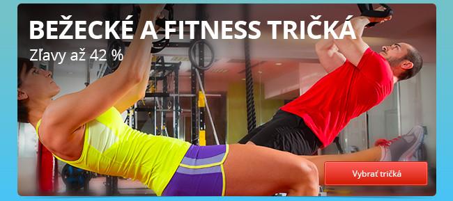 Bežecké a fitness tričká