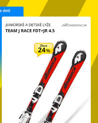 Nordica TEAM J RACE FDT+JR 4.5