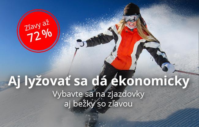 Aj lyžovať sa dá ekonomicky