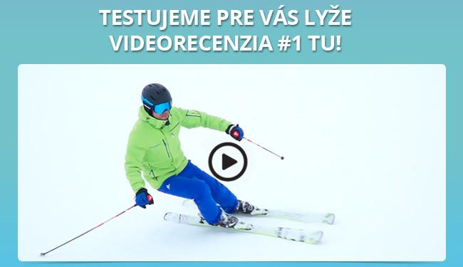 Testujeme pre Vás lyže – videorecenzia #1 tu!