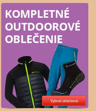 Kompletné outdoorové oblečenie