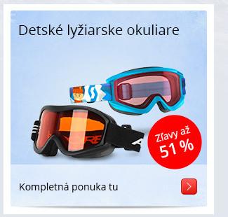 Detské lyžiarske okuliare