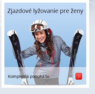Zjazdové lyžovanie pre ženy