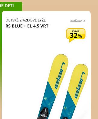 Elan RS BLUE + EL 4.5 VRT
