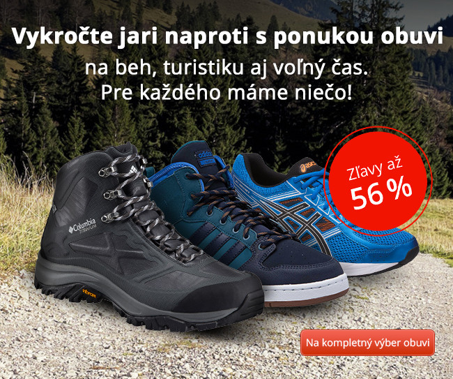 Vykročte jari naproti s ponukou obuvi