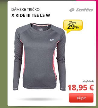 Lotto X RIDE III TEE LS W