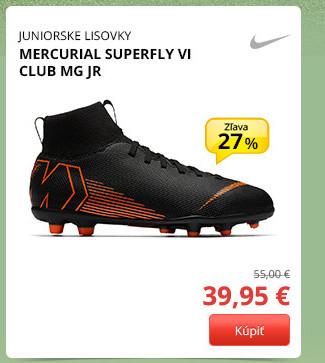 Nike MERCURIAL SUPERFLY VI CLUB MG JR
