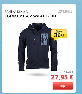 Lotto TEAMCUP ITA V SWEAT FZ HD