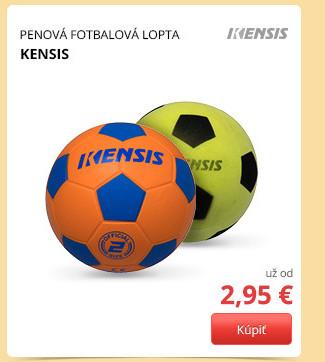 Penová fotbalová lopta už od 2,95 €