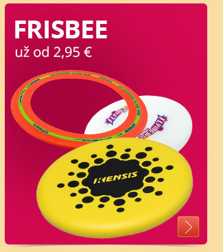 Frisbee už od 2,95 €