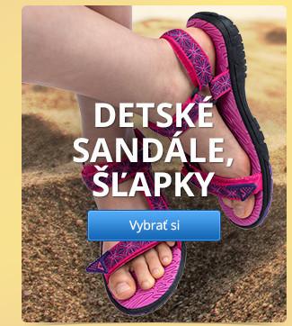Detské sandále, šľapky