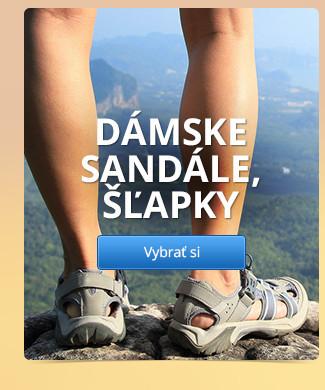 Dámske sandále, šľapky