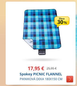 Spokey PICNIC FLANNEL 180X150