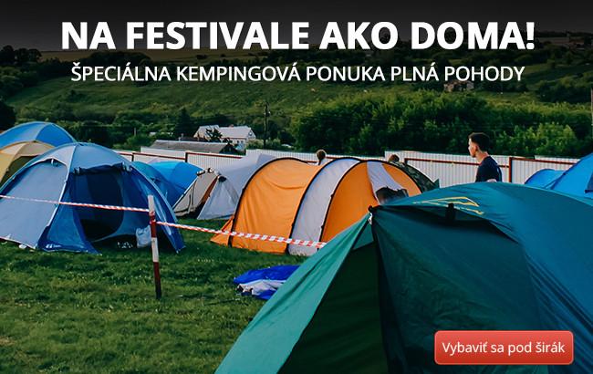 Na festivale ako doma!