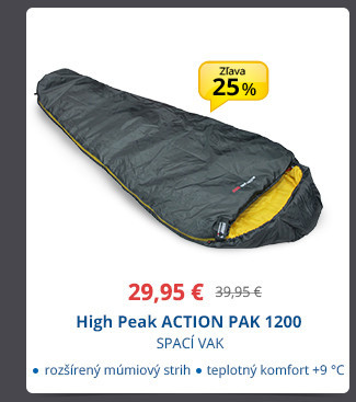 High Peak ACTION PAK 1200