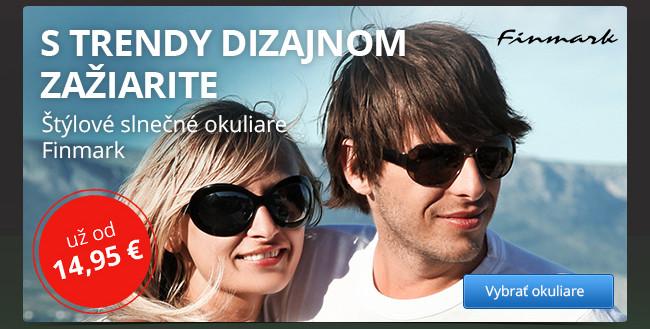 Štýlové slnečné okuliare Finmark