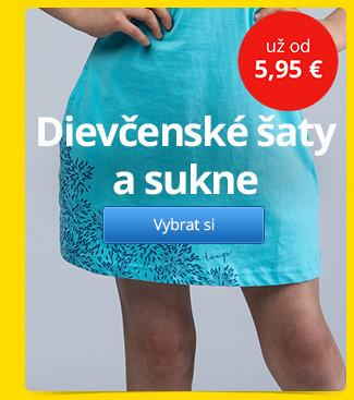 Dievčenské šaty a sukne